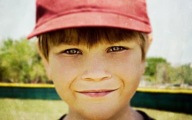 Portrait of Boy, Grant, Baseball Player