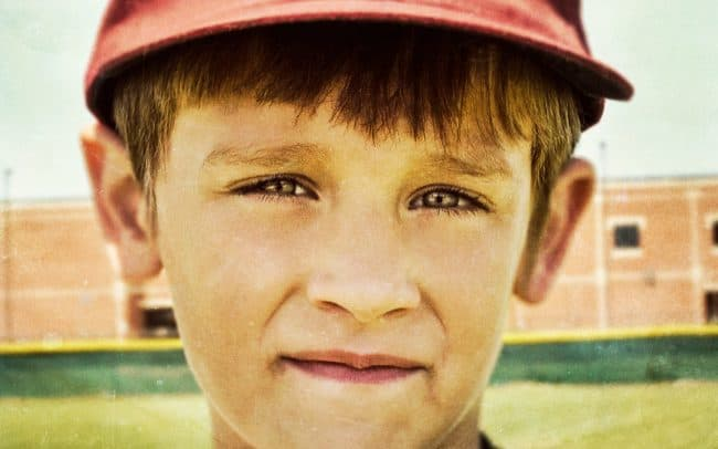 Portrait of Boy, Brett, Baseball Player