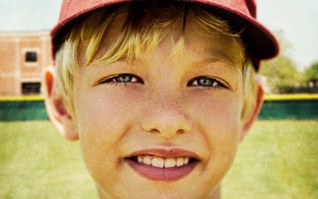 Portrait of Boy, Zane, Baseball Player