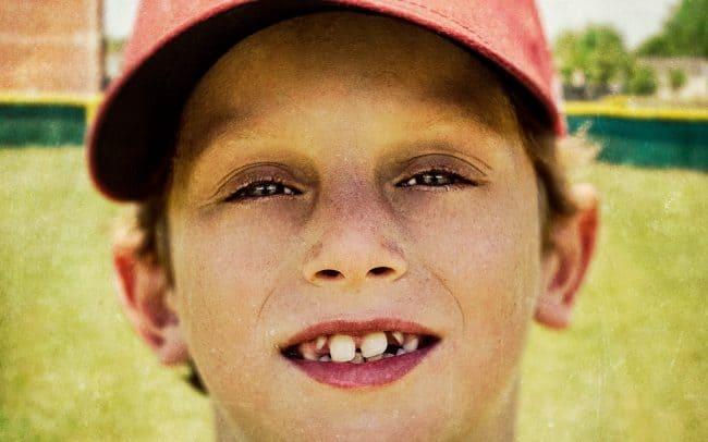 Portrait of Boy, Cameron, Baseball Player