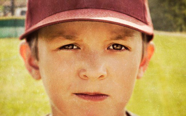 Portrait of Boy, Holden, Baseball Player