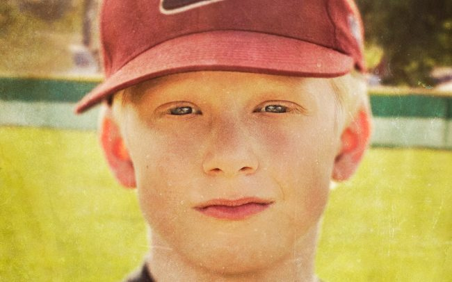 Portrait of Boy, Nick, Baseball Player