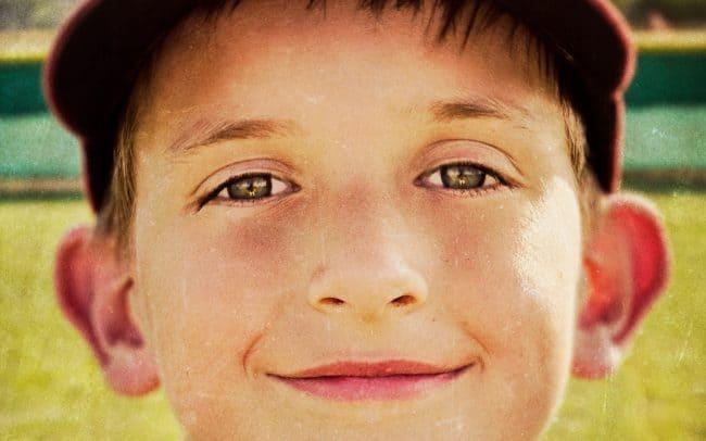 Portrait of Boy, Aidan, Baseball Player