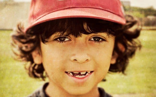 Portrait of Boy, Christian, Baseball Player