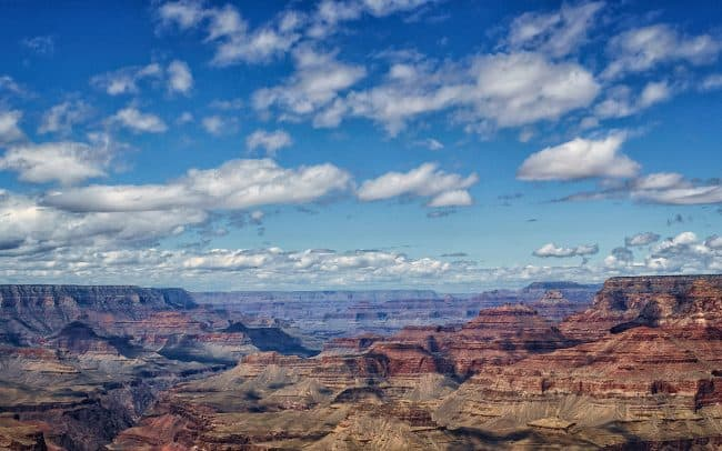 Clouds, South Rim, Grand Canyon