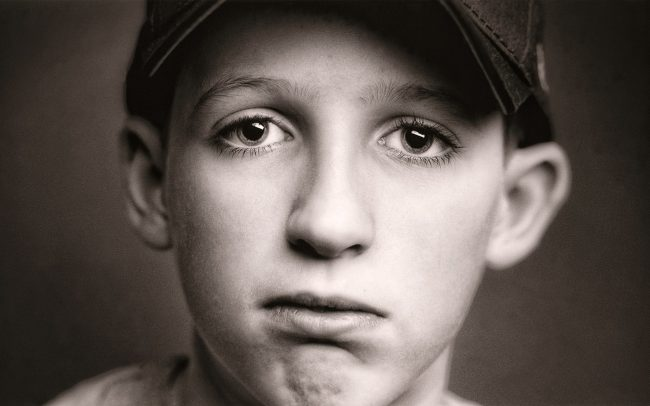 Black and white, Portrait of Boy, Bruce, Baseball Player