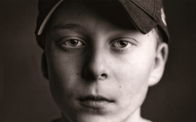 Black and white, Portrait of Boy, Jake, Baseball Player