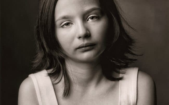 Black and white, Portrait of Girl, Katerina