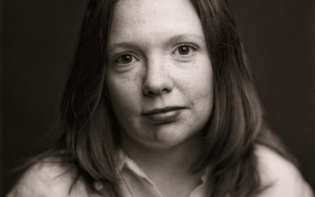 Black and white, Portrait of Woman, Kelley