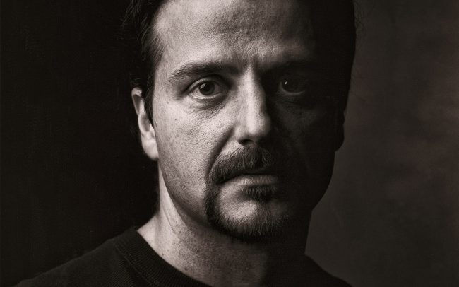 Black and white, Portrait of Man, Larry