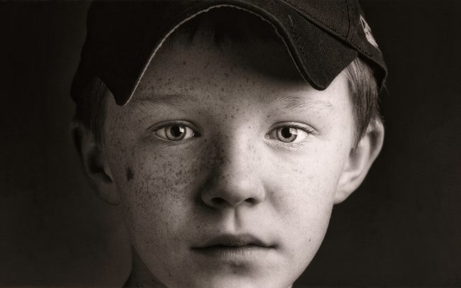 Black and white, Portrait of Boy, Matt, Baseball Player
