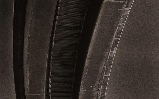 Black and white, Beltway 8, Houston, Texas