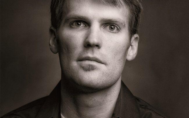 Black and white, Portrait of Man, Ryan