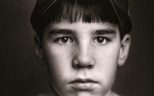 Black and white, Portrait of Boy, Steven, Baseball Player