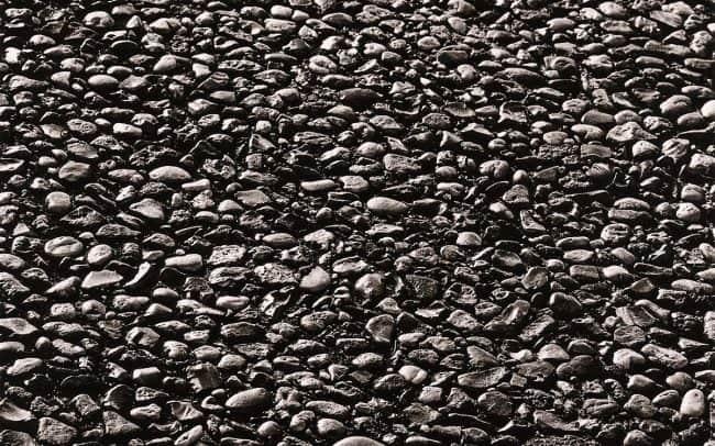Black and white, Stone Sidewalk, Houston, Texas