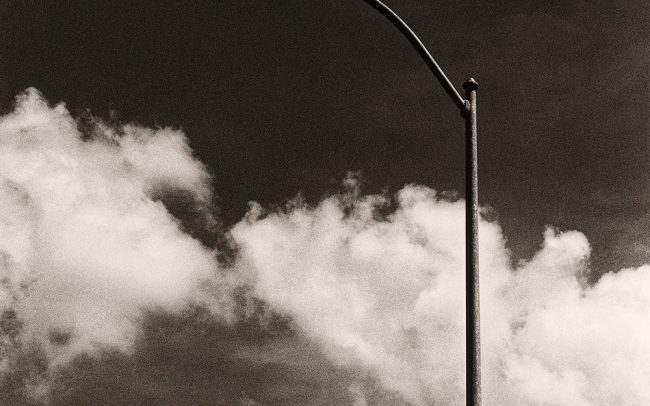 Black and white, Street Lamp, Houston, Texas