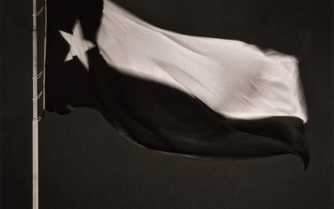 Black and white, Texas Flag, Houston, Texas