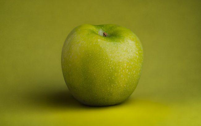Still Life of Granny Smith Apple