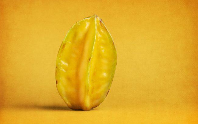 Still Life of Star Fruit
